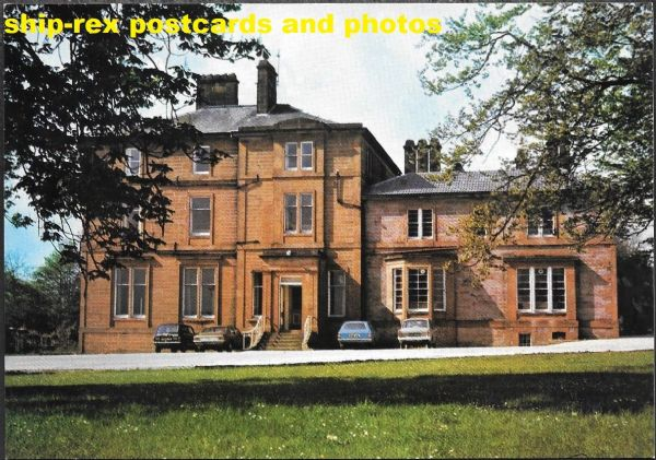 Kirkconnel Hall Hotel, Dumfries - postcard